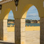 Poort met zicht op Algarve