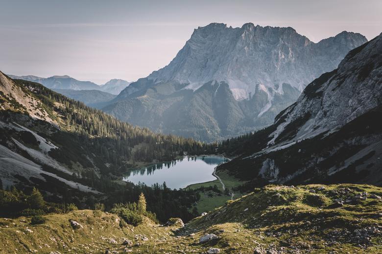 Zugspitze en Seebensee