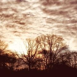 Wolken zonsonder