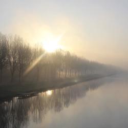 Zonsopkomst in Almere