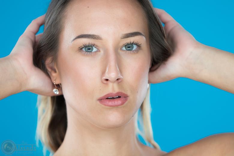 Polina - Model Polina tijdens een fotoshoot eerder dit jaar.