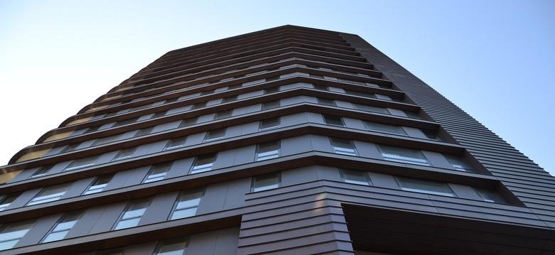 Woontoren 2 - Opname van de nieuwe woontoren in Venlo.