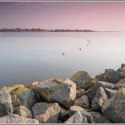 Sunset at Lauwersmeer.....