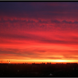 Morgenrood.