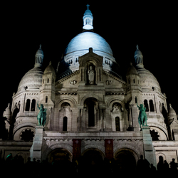 Sacre-Coeur by night