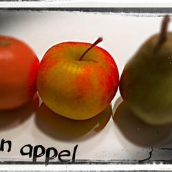 Een appel