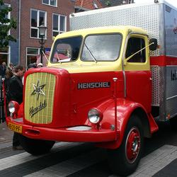 Oldtimer vrachtauto Henschel