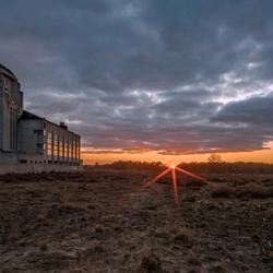 Zonsondergang Radio Kootwijk