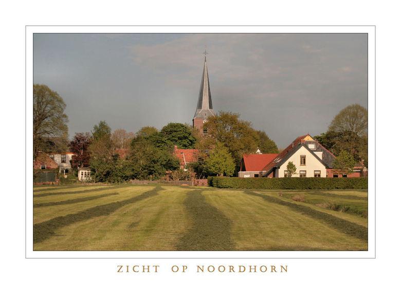 Zicht op Noordhorn