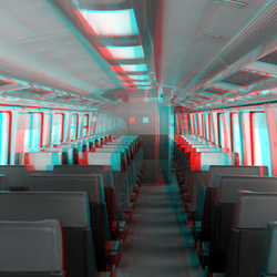 trein-wagon NS 3d stereo