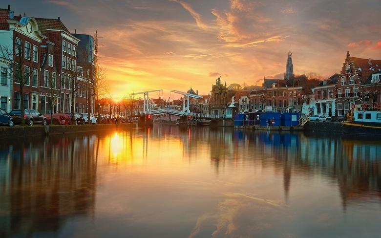 Spaarne Sunset - Haarlem
