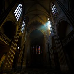De verlaten kerk