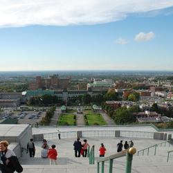 Montréal: panorama vanop het Oratorium