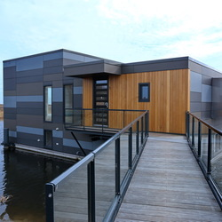 Wonen op het water in Lelystad