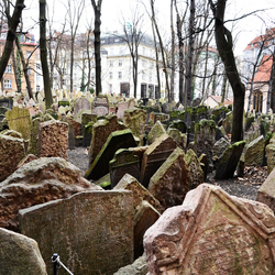 Praag -Oude Joodse Begraafplaats 1