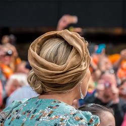 Leuk hoedje...............Koningsdag Amstelveen