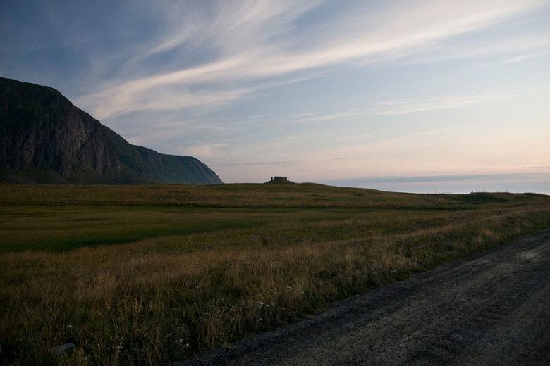 Eggum - Dit is het landschap op de Lofoten bij het dorpje Eggum. Ik had 's avonds zeer mooi licht.
