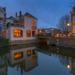 Grachtenpanden in Den Haag