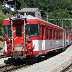 Matterhorn Gotthard Bahn Zwitserland