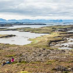 Zicht op de Breiðafjörður