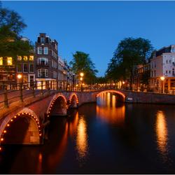 Amsterdam bij Nacht