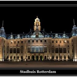 Stadhuis van Rotterdam hdr-panorama