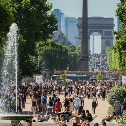 Urban perspective: Parijs
