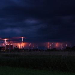 Lightning display!