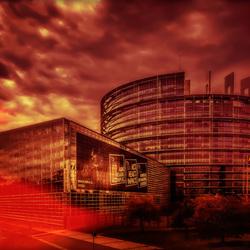 Straatsburg- Europees Parlement. 2