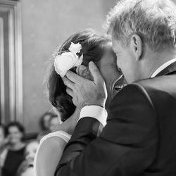 Emotie op de bruiloft