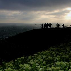 Helgoland, de die-hard fotografen gaan door!