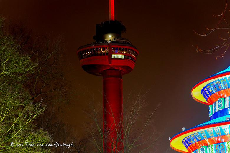 Rotterdam meets China Light - China Light festival Rotterdam in het park bij de Euromast. t/m 14 februari
