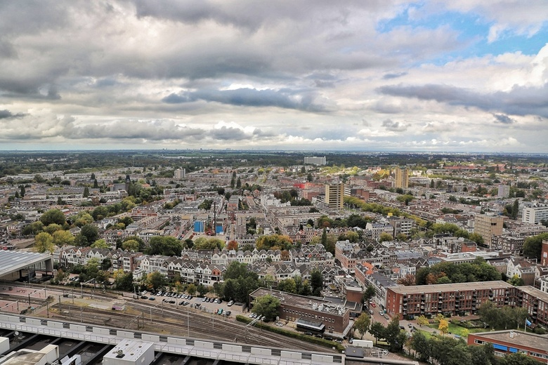 The city from above -