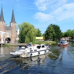 P1450960 Zomers Delft 2017 nr4 Oosterpoort 6juli 2018
