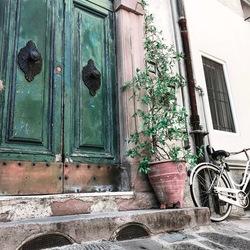 Straatbeeld - Lucca - Italië