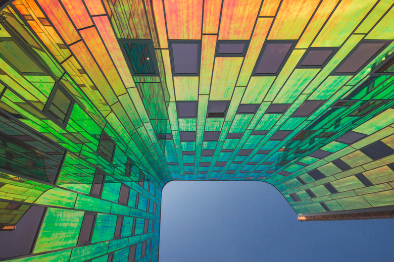 Regenboog kleuren -