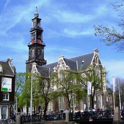 Nederland Amsterdam Westerkerk