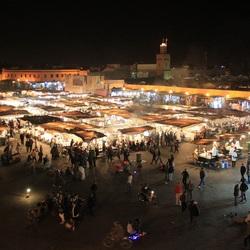 Marrakech Plein Avond