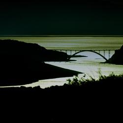 de brug naar het eiland KRK