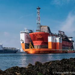 Dockwise Vanguard, bijna klaar voor vertrek