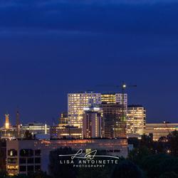 Skyline Utrecht.