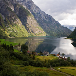 Noorwegen, Naeroy Fjorden