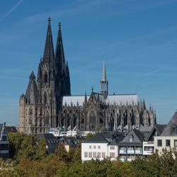 De Dom in Keulen 5 okt 2018