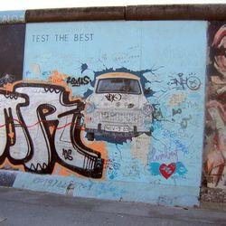 Berlijnse muur.