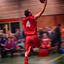 lay-up basketbal