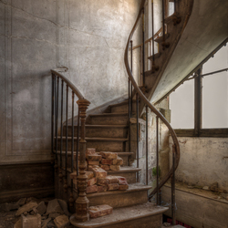 The tiny staircase