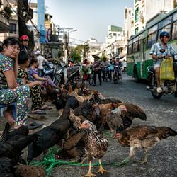 Straatmarkt Saigon