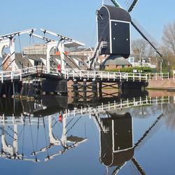 oud Leiden weerspiegeld 2