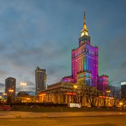 Warschau - Paleis voor Cultuur en Wetenschappen