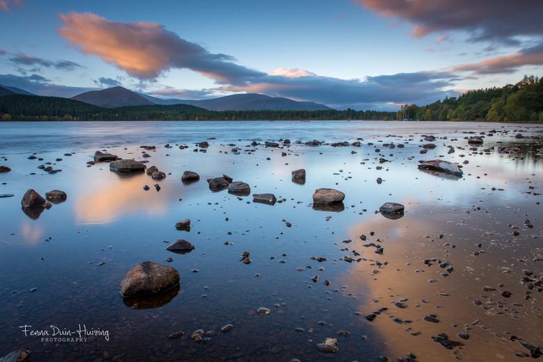 Loch Morlich, Schotland - Vorig jaar ben ik afgereisd naar Schotland. Hier heb ik heerlijk kunnen genieten van de gastvrije mensen, gastvrije mensen e